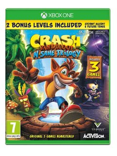Crash Bandicoot N. Sane Trilogy игра Xbox